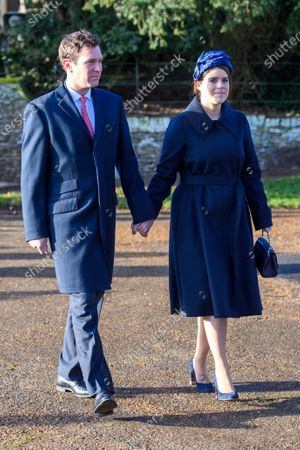 Princess Eugenie and Jack Brooksbank at St Mary Magdalene Church