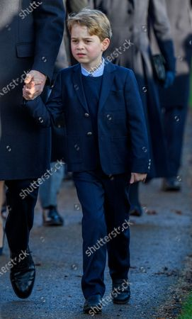Stock Picture of Prince George at St Mary Magdalene Church