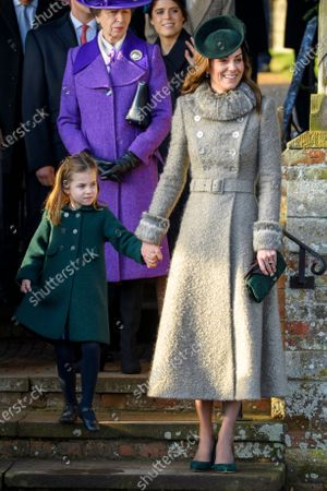 Editorial photo of Christmas Day church service, Sandringham, Norfolk, UK - 25 Dec 2019