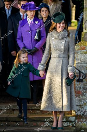 Editorial image of Christmas Day church service, Sandringham, Norfolk, UK - 25 Dec 2019
