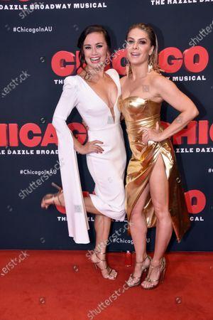 Alinta Chidzey and Natalie Bassingthwaighte