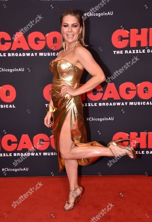 Editorial photo of 'Chicago' musical opening night party, Melbourne, Australia - 20 Dec 2019