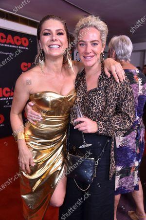 Natalie Bassingthwaighte with Ash Pollard