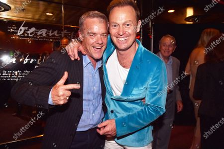 Stock Image of Stefan Dennis and Jason Donovan