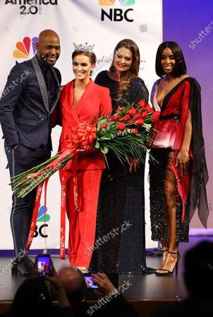 Miss America Competition Uncasville Arkivbilder Eksklusive