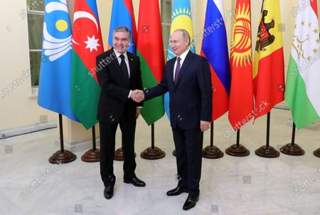Editorial picture of Supreme Eurasian Economic Council in St. Petersburg, St Petersburg, Russian Federation - 20 Dec 2019