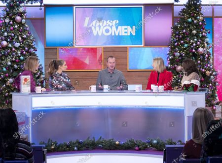 Kaye Adams, Stacey Solomon, Andy Whyment, Carol McGiffin and Kelle Bryan