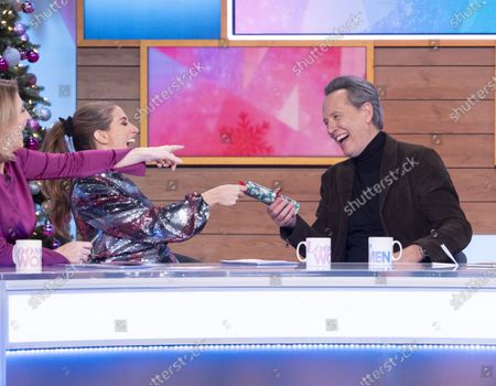 Kaye Adams, Stacey Solomon, Richard E. Grant