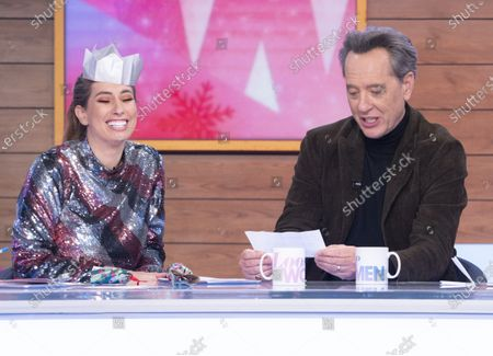 Stacey Solomon, Richard E. Grant