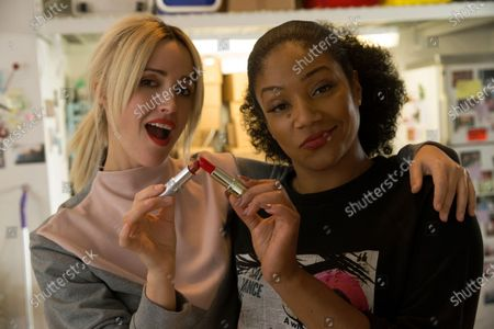 Rose Byrne as Mel Paige and Tiffany Haddish as Mia Carter