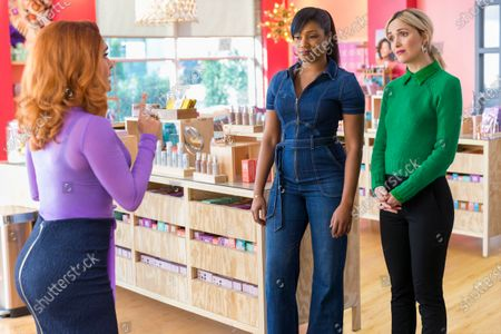 Salma Hayek as Claire Luna, Tiffany Haddish as Mia Carter and Rose Byrne as Mel Paige