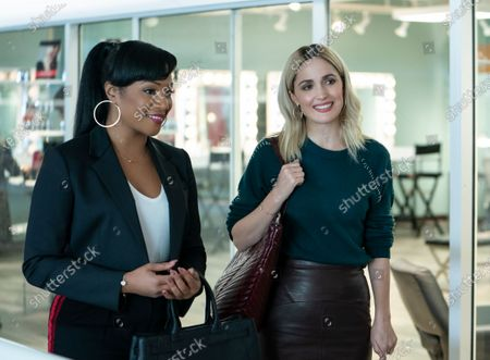 Tiffany Haddish as Mia Carter and Rose Byrne as Mel Paige
