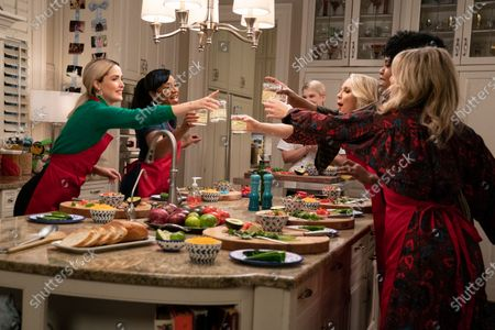 Rose Byrne as Mel Paige, Tiffany Haddish as Mia Carter, Ari Graynor as Angela, Natasha Rothwell as Jill and Jessica St. Clair as Kim