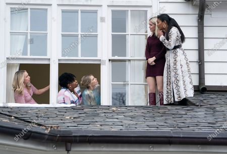 Jessica St. Clair as Kim, Natasha Rothwell as Jill, Ari Graynor as Angela, Rose Byrne as Mel Paige and Tiffany Haddish as Mia Carter