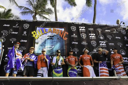 Editorial picture of 2019 Billabong Pipe Masters, Surfing, Finals day, Haleiwa, USA - 19 Dec 2019