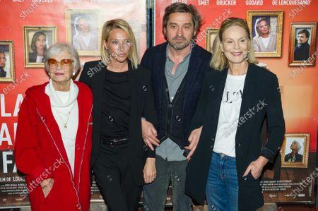 Brigitte Aubert, Laura Smet, Louis-Do de Lencquesaing, Marthe Keller