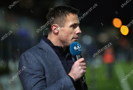 Leinster vs Ulster. Eir Sports' Tommy Bowe ahead of the game