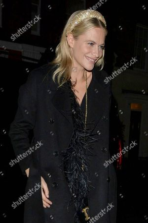 Editorial photo of Celebrities at Chiltern Firehouse, London, UK - 20 Dec 2019