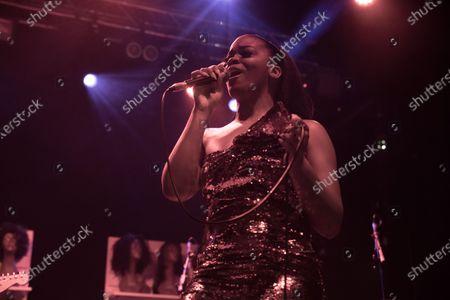 Editorial image of Ari Lennox in concert at Electric Brixton, London, UK - 20 Dec 2019