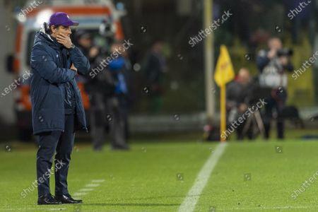 Stock Picture of Vincenzo Montella Coach (Fiorentina)