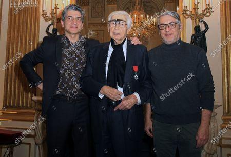 Editorial photo of Julio Le Parc receives the Legion of Honor, Paris, France- 18 Dec 2019