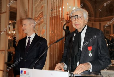 Editorial picture of Julio Le Parc receives the Legion of Honor, Paris, France- 18 Dec 2019