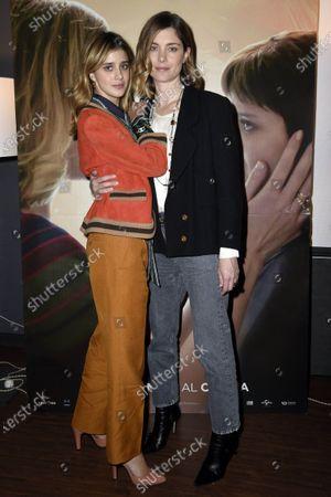 Stock Picture of Vittoria Puccini and Benedetta Porcaroli