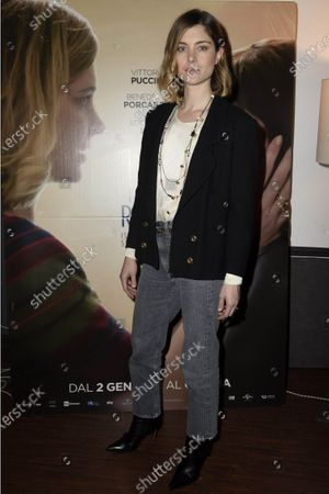 Editorial photo of '18 gifts' film screening, Milan, Italy - 20 Dec 2019