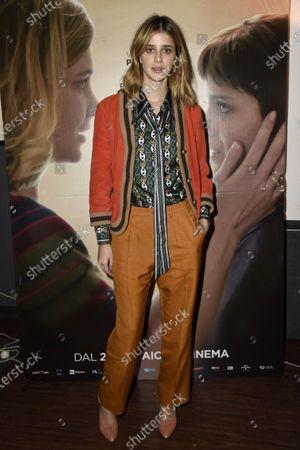 Editorial image of '18 gifts' film screening, Milan, Italy - 20 Dec 2019