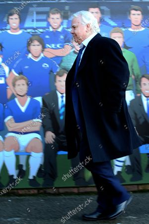 Everton Chairman Bill Kenwright during the Premier League match between Everton and Arsenal at Goodison Park, Liverpool