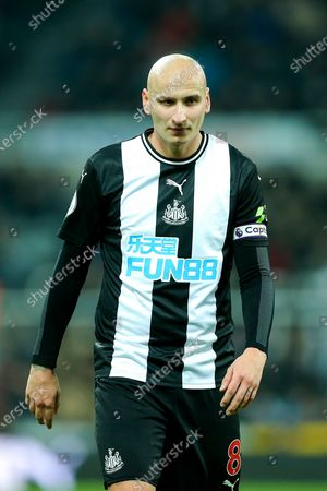 Jonjo Shelvey (#8) of Newcastle United during the Premier League match between Newcastle United and Crystal Palace at St. James's Park, Newcastle