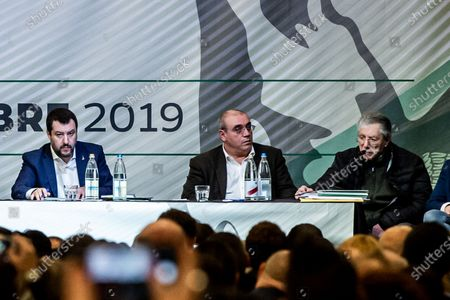 Editorial image of Lega Party Federal Congress, Milan, Italy - 21 Dec 2019