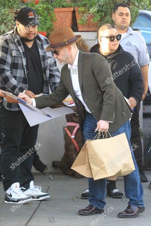 Editorial picture of Jeff Cohen out and about, Los Angeles, USA - 20 Dec 2019