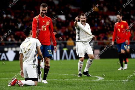 Editorial photo of Spanish National Team Legends vs Goldstandard World Stars, Madrid, Spain - 21 Dec 2019