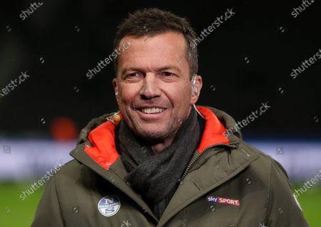 Sky Experte Lothar Matthaeus / Interview Fernsehen / Sport / Football / DFL Bundesliga  /  2019/2020 / 21.12.2019 / Hertha BSC Berlin vs. Borussia Moenchengladbach BMG / DFL regulations prohibit any use of photographs as image sequences and/or quasi-video. /