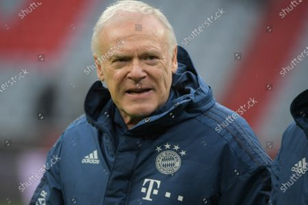 Co-Trainer Hermann Gerland (FC Bayern Muenchen), FC Bayern Muenchen - VFL Wolfsburg, Bundesliga, 21.12.2019 DFL REGULATIONS PROHIBIT ANY USE OF PHOTOGRAPHS AS IMAGE SEQUENCES AND/OR QUASI-VIDEO