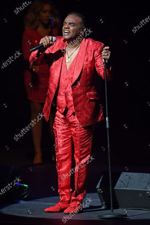 Stock Photo of The Isley Brothers - Ronald Isley