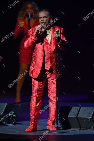 Editorial picture of The Isley Brothers in concert at The Kravis Center for the Performing Arts , West Palm Beach, Florida, USA - 20 Dec 2019