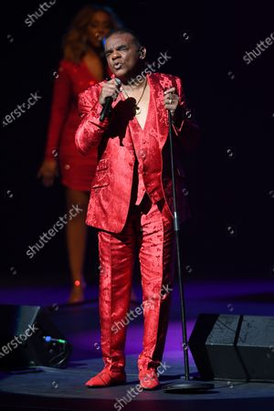 Editorial photo of The Isley Brothers in concert at The Kravis Center for the Performing Arts , West Palm Beach, Florida, USA - 20 Dec 2019