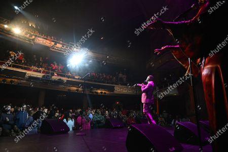 Editorial photo of Holiday Joy: A Gospel Celebration at The Apollo Theater, New York, USA - 21 Dec 2019
