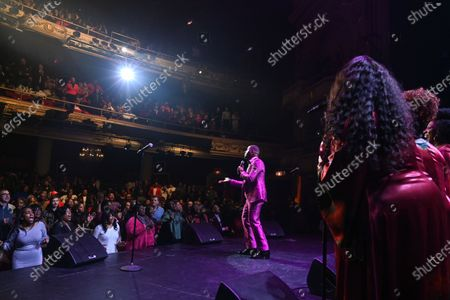 Editorial picture of Holiday Joy: A Gospel Celebration at The Apollo Theater, New York, USA - 21 Dec 2019