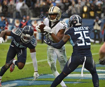 Editorial image of NFL New Orleans Saints vs Tennessee Titans, Nashville, USA - 22 Dec 2019