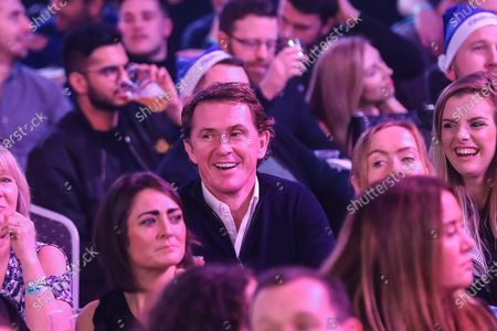 AP McCoy in the audience during the PDC William Hill World Darts Championship at Alexandra Palace, London