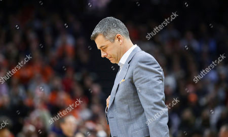 Virginia head coach Tony Bennett reacts to a call during an NCAA college basketball game against South Carolina in Charlottesville, Va