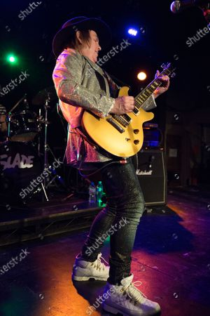 Editorial photo of Slade in concert at O2 Institute Birmingham, UK - 22 Dec 2019
