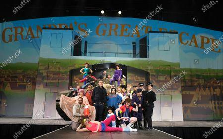 Editorial image of 'Grandpa's Great Escape' play photocall, Birmingham, UK - 22 Dec 2019