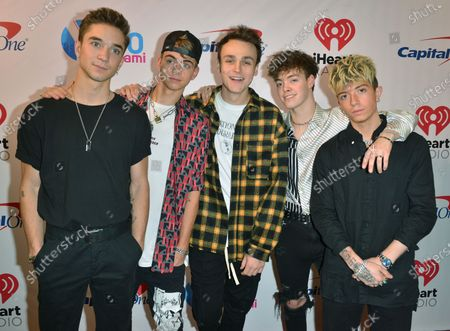 Why Don't We - Zach Herron, Jack Avery, Daniel Seavey, Corbyn Besson and Jonah Marais