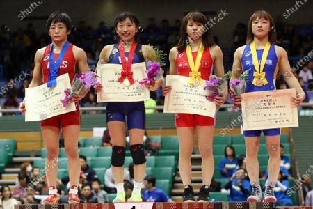 Editorial photo of Japan Wrestling Championship, Wrestling, Komazawa Gymnasium, Tokyo, Japan - 22 Dec 2019