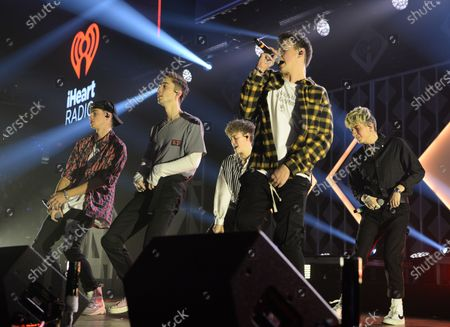 Stock Image of Why Don't We - Zach Herron, Jack Avery, Daniel Seavey, Corbyn Besson, Jonah Marais