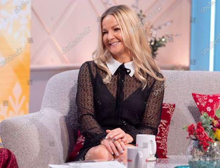 Editorial image of 'Lorraine' TV show, London, UK - 23 Dec 2019